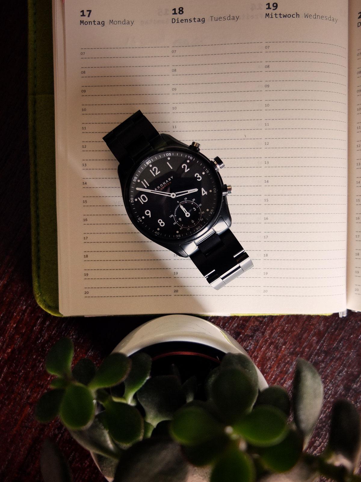 Lifestyle-Blog-Maenner-Smartwatch-Kronaby-Test-Bericht-iPhone-App