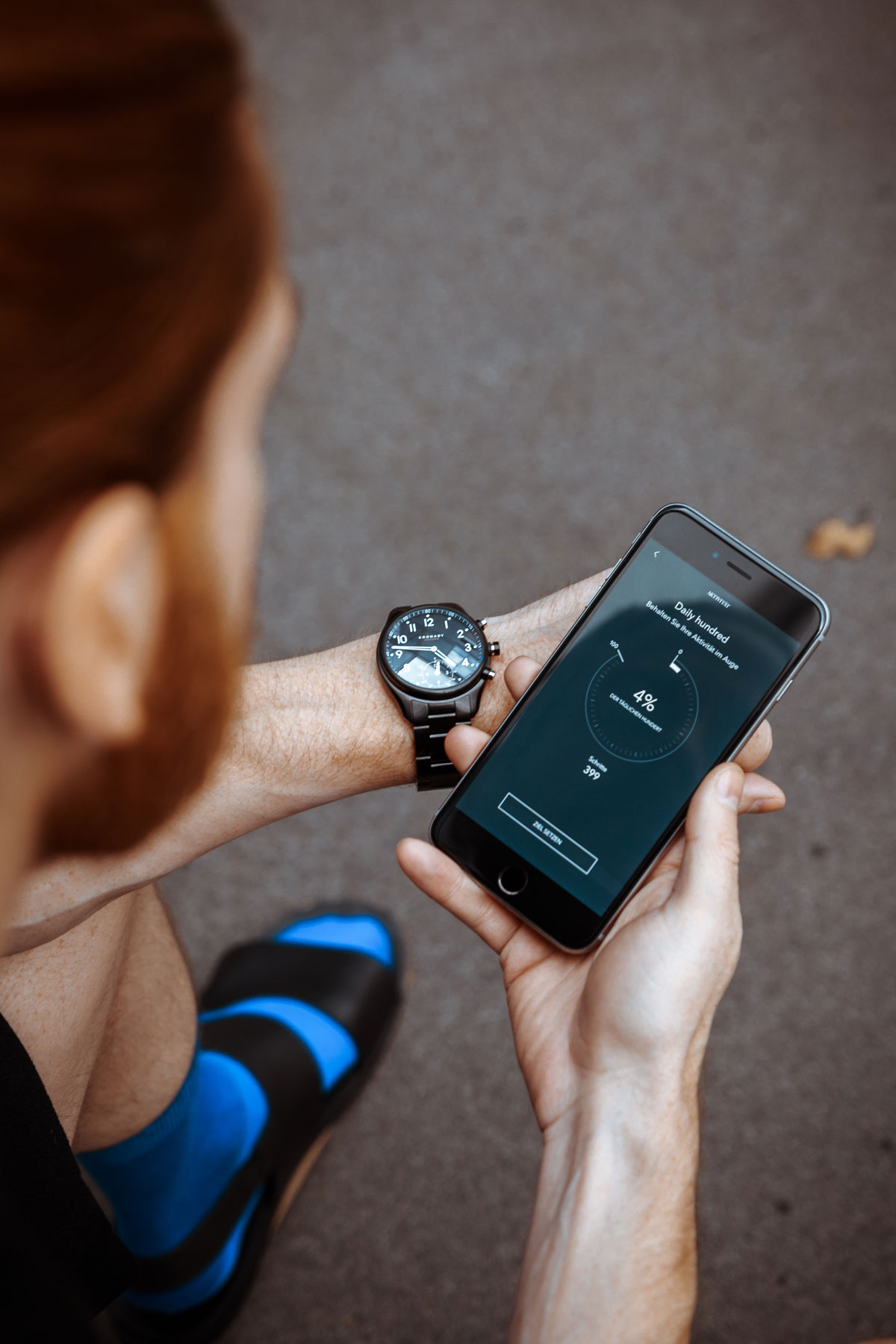 Lifestyle-Blog-Maenner-Smartwatch-Kronaby-Test-Bericht-iPhone-App