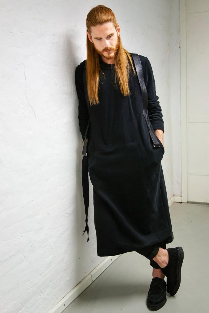 Esther-Perband-Avantgarde-Malefashion-Unisex-Ginger-Hair-Winterkollektion