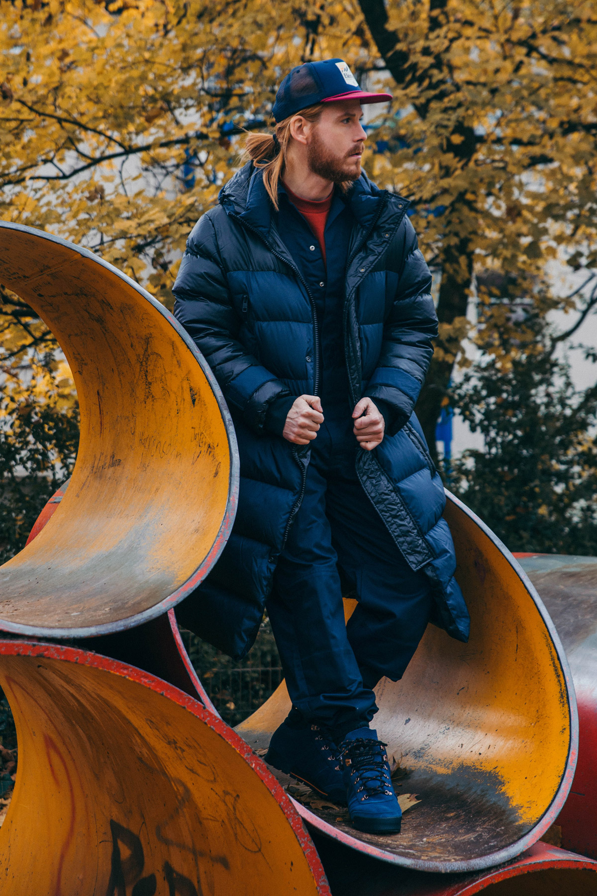 Calvin-Klein-Steppjacke-Wintermantel-Overall-Cappy-Adidas-Outfit