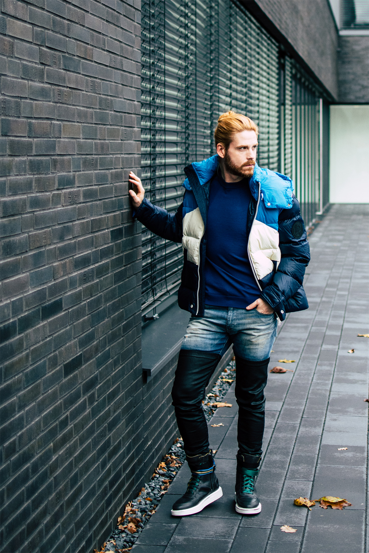 Steppjacke-Diesel-Winterlook-Streetstyle-Winterboots-Fashion-Style