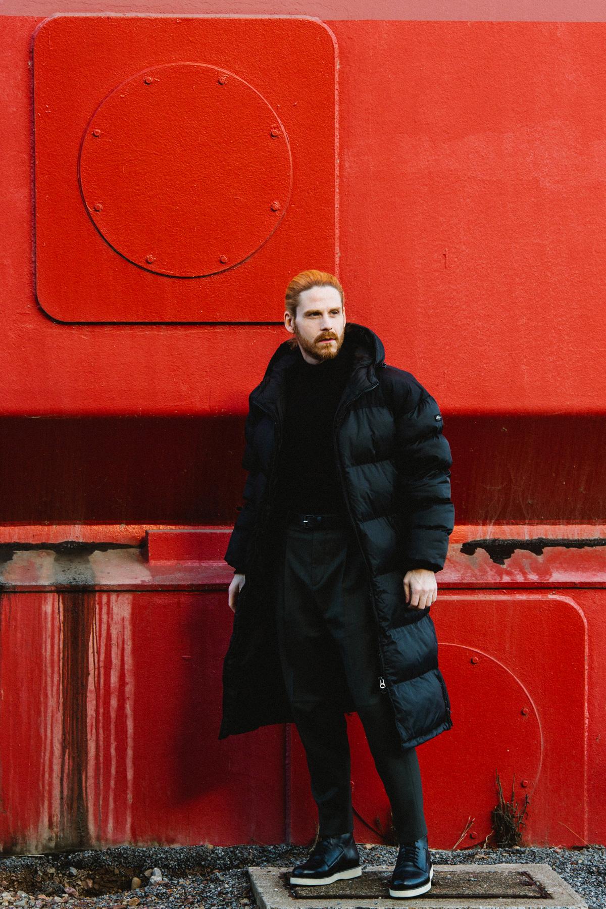 Malefashion-Blogger-Influencer-Schott-Steppmantel-Wintermode-Trend