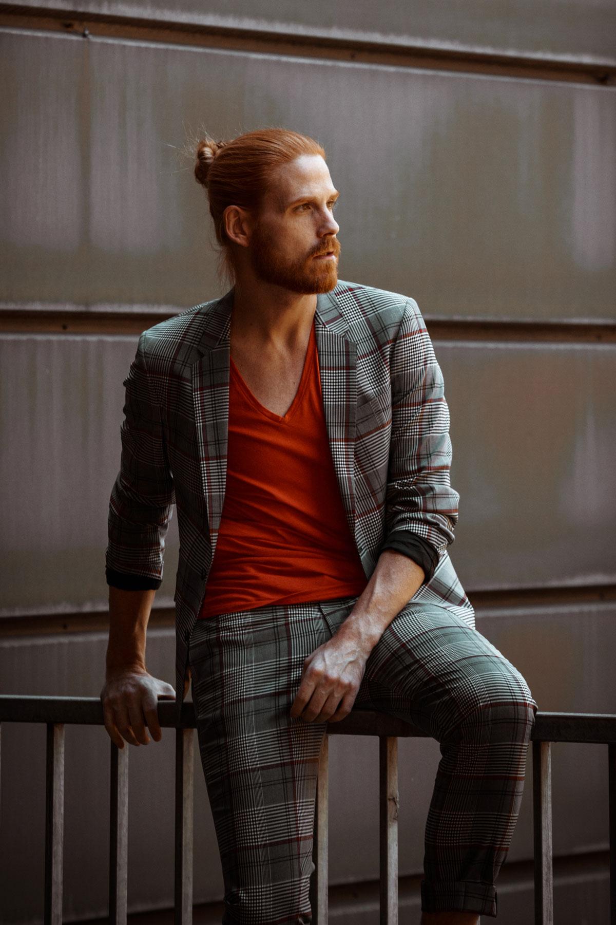 Malefashion-Anzug-Karos-Herbstlook-Drykorn-Style