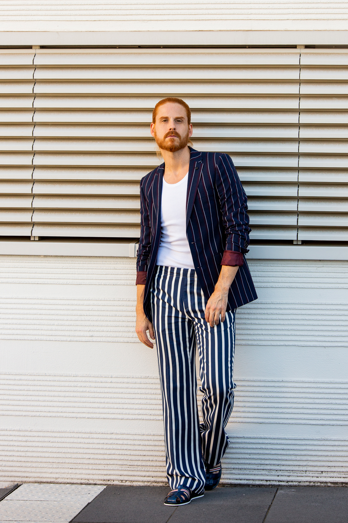 Sommeroutfit-Malefashion-Sakko-Trend-Malemodel-Ginger-Style