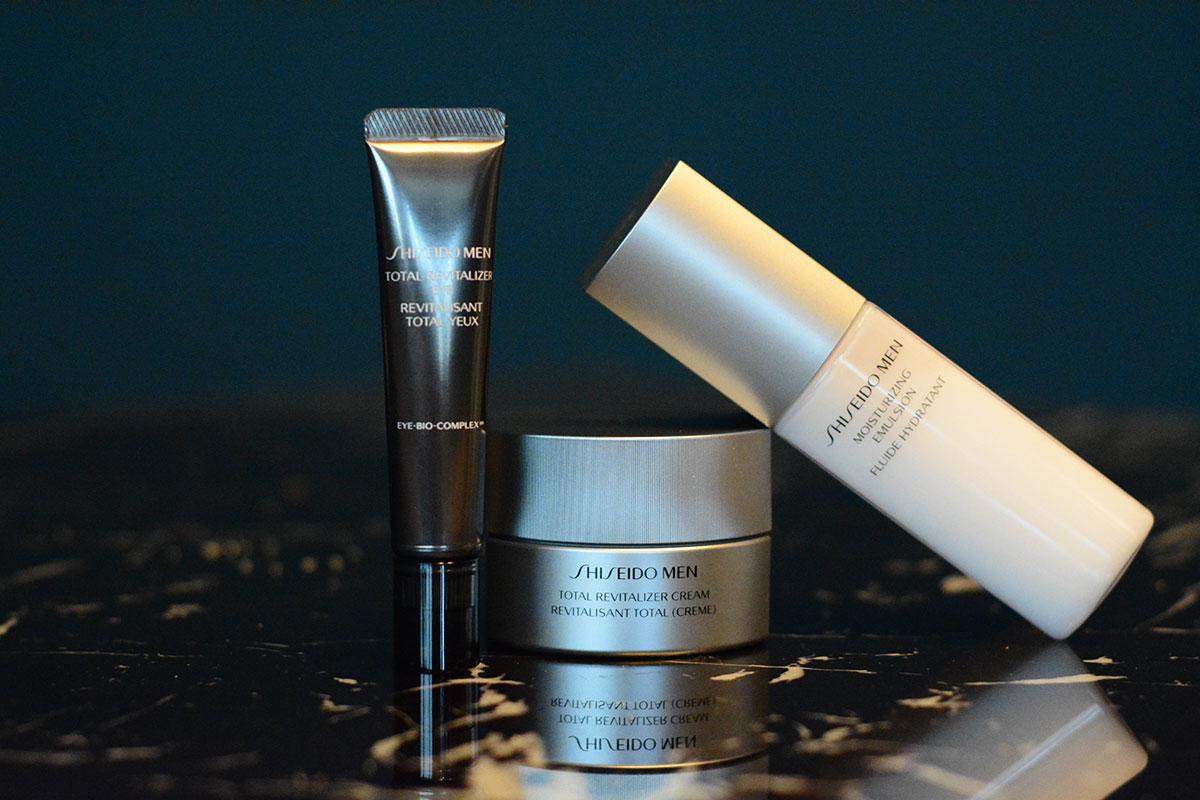 Shiseido-Men-Pflegeprodukte-Augencreme-Maennerhaut-Blogger